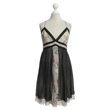 Barbara Bui zijden jurk met bloemenprint