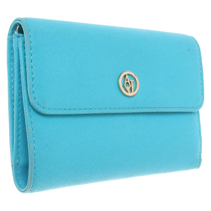 Armani Jeans Wallet in turquoise
