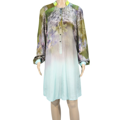 Matthew Williamson Silk dress with pattern