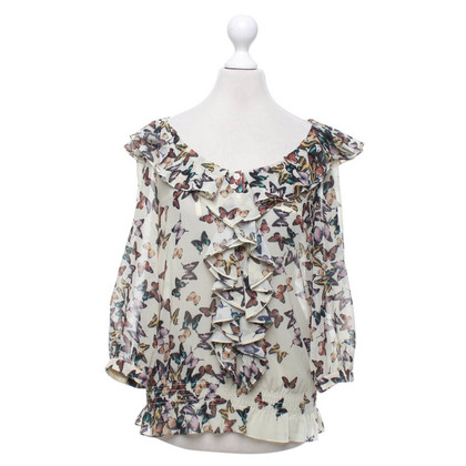 Ted Baker Blusen-Shirt in Beige/Multicolor