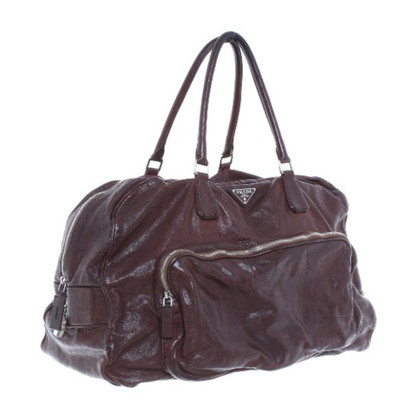 Prada Travel bag in Brown
