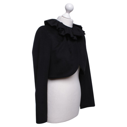 Milly Short jacket in black