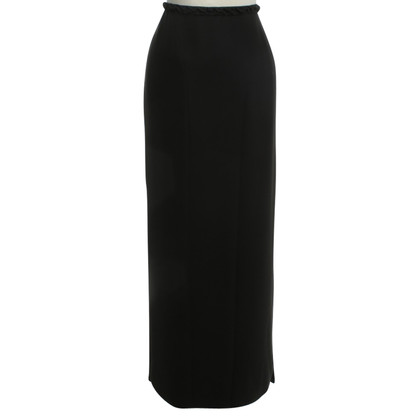 Blumarine Long skirt in black