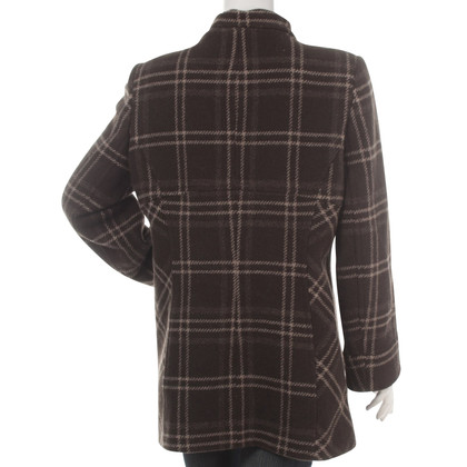 Hobbs Finest Italian Wool Check Coat