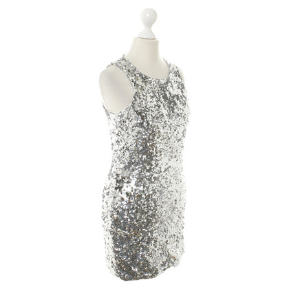By Malene Birger Abito di paillettes in argento