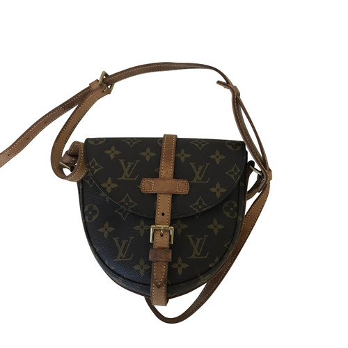 bae7bb2f726b Louis Vuitton Shoulder bag Canvas in Brown - Second Hand Louis ...
