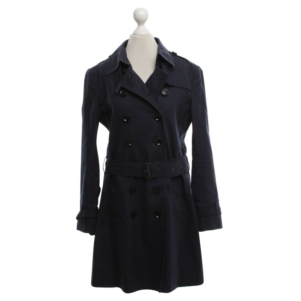 Innovative Designs Boutique Bugatti Men's Trenchcoat Dunkelblau Trench Coats New Arrival, Bugatti !
