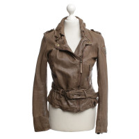 Other Designer Tigha - leatherjacke in light brown
