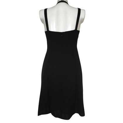 Armani Collezioni Black silk dress