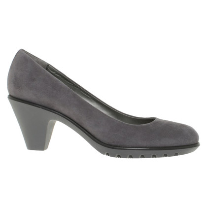 Hogan pumps in grigio scuro