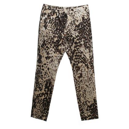 Lanvin Pantaloni stampa animale