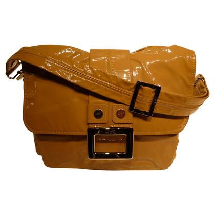 Roger Vivier Handtasche aus Lackleder