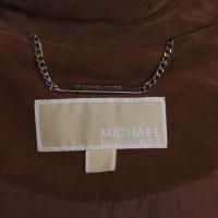 Michael Kors Lammledermantel in Braun