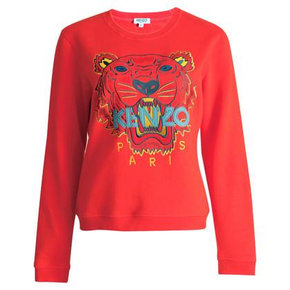 Kenzo Sweatshirt mit Tigerkopf