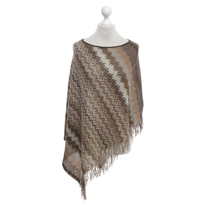 Missoni Poncho in multicolor
