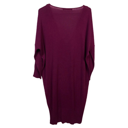Balenciaga Knit dress in berry
