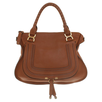 "Chloé ""Mercy Bag"" in Cognac"