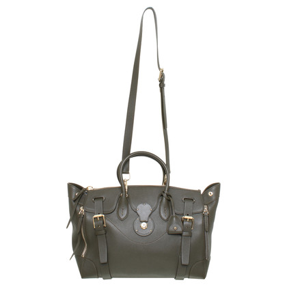 "Ralph Lauren Handbag ""soft Ricky 40"" in olive"