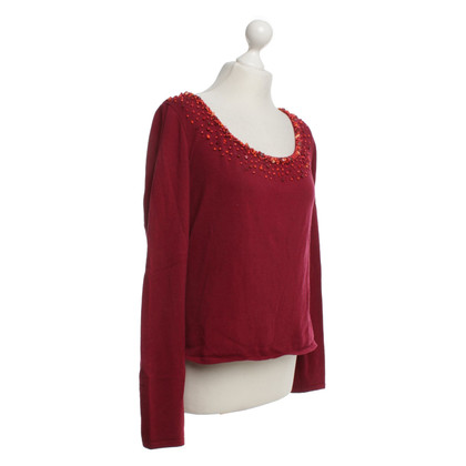 Rena Lange Pullover in red