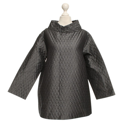 Max Mara top with rhombus quilting
