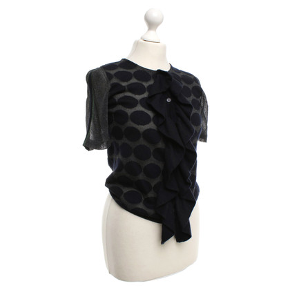 Marni top with dot pattern