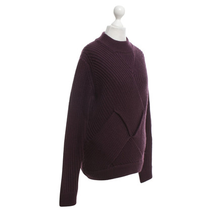 Carven Sweater in Bordeaux