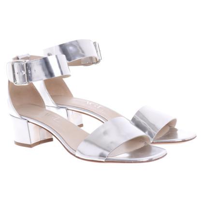 Other Designer AGL - Silver Sandals