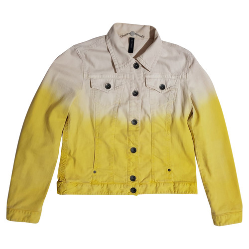 the best attitude a4cd5 447e7 Marc Cain Jacke/Mantel aus Baumwolle in Gelb - Second Hand ...