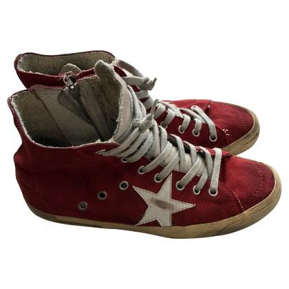 Golden Goose Sneakers in red