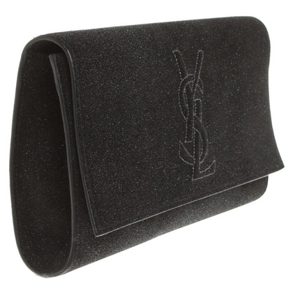 Saint Laurent Glänzende Clutch