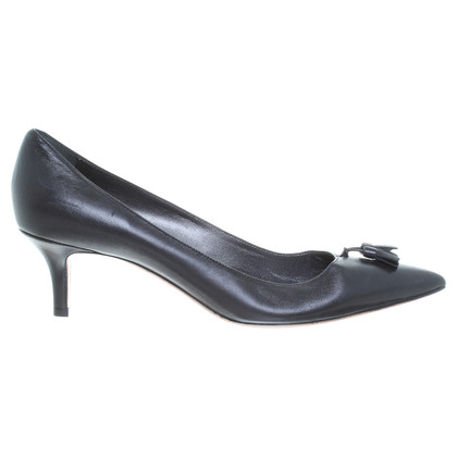 Navyboot pumps in zwart
