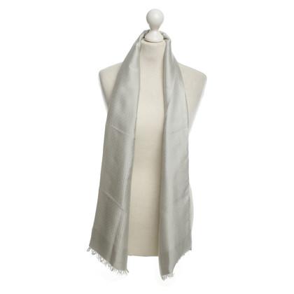Dolce & Gabbana Zijden sjaal in Grijs