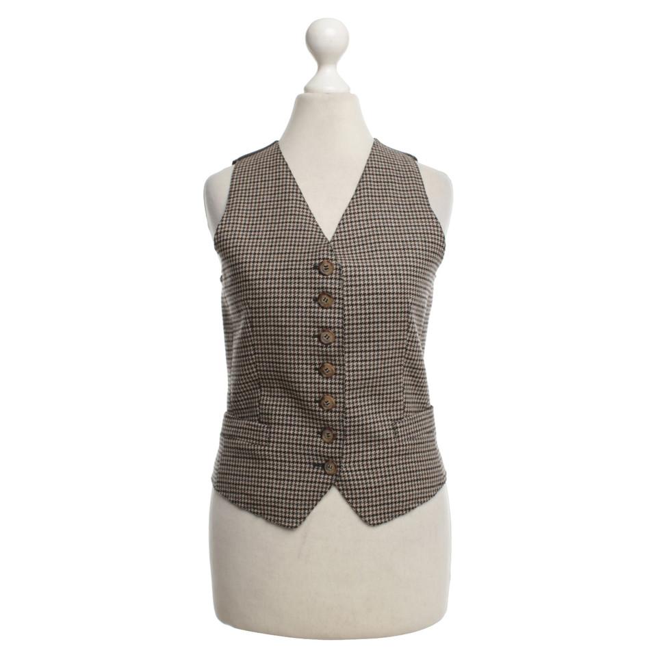 D&G Waistcoat with belt