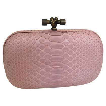 Bottega Veneta clutch made of snakeskin