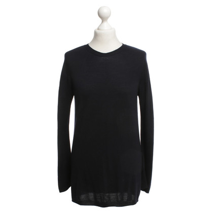 Jil Sander wool jumper in dark blue