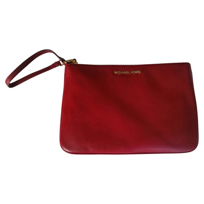 Michael Kors Handbag made of red leather