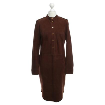 Other Designer Daniel - suede dress in Brown
