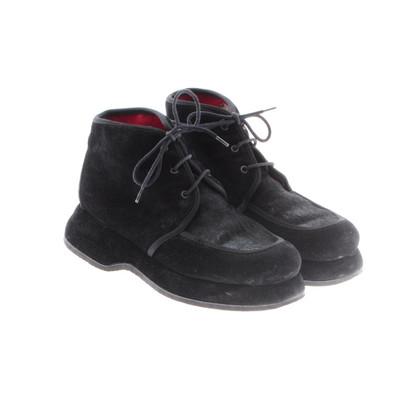 Kenzo Zwarte Lace-up schoenen
