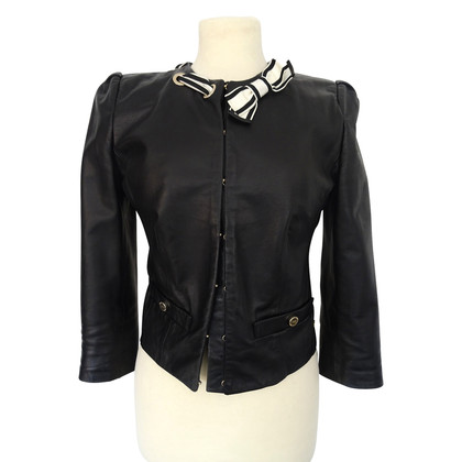 Elisabetta Franchi Leather jacket