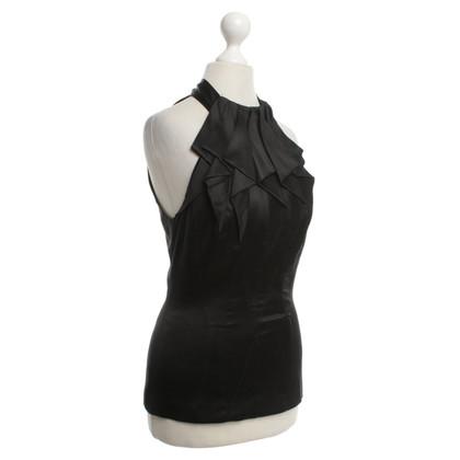 Karen Millen Neckholdertop in zwart