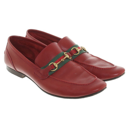 Gucci Slipper in rood