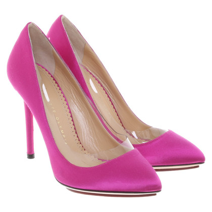 Charlotte Olympia pumps in pink