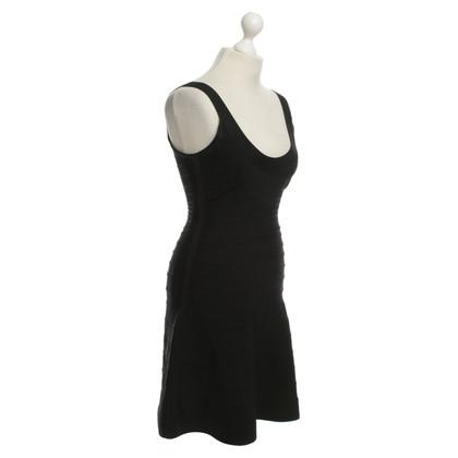 Herve Leger Dress in Black