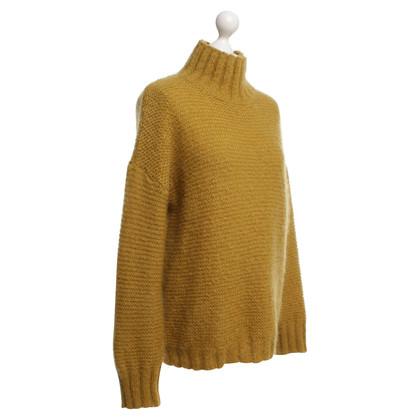 Baum und Pferdgarten Knit sweater in ocher