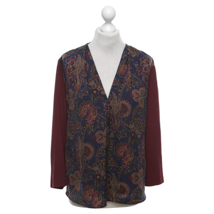 Sandro top with paisley pattern