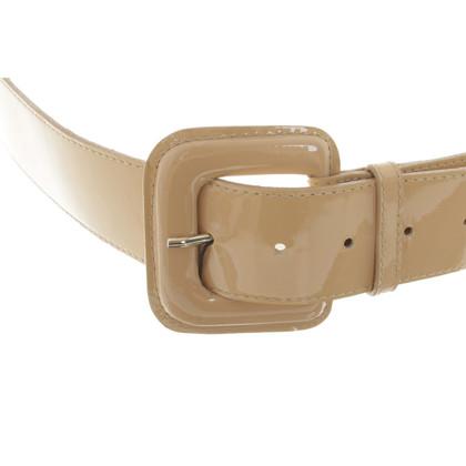 L.K. Bennett Belt made of patent leather