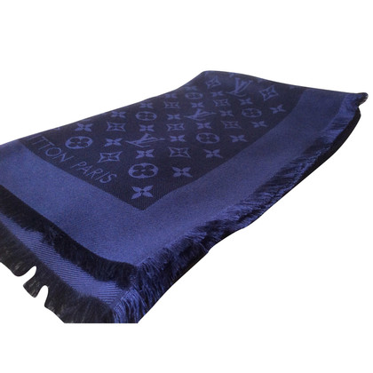 Louis Vuitton Monogram towel in dark blue