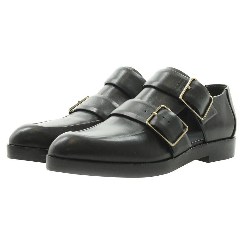 alexander wang loafer in schwarz second hand alexander wang loafer in schwarz gebraucht kaufen. Black Bedroom Furniture Sets. Home Design Ideas