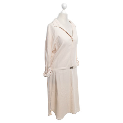 René Lezard Shirt Dress in Nude