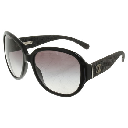 Chanel Sonnenbrille mit Denim-Details